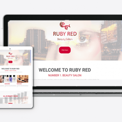 Beauty Salon Website Theme