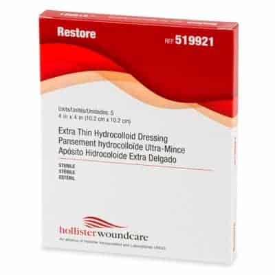 Restore Extra Thin Hydrocolloid Dressings