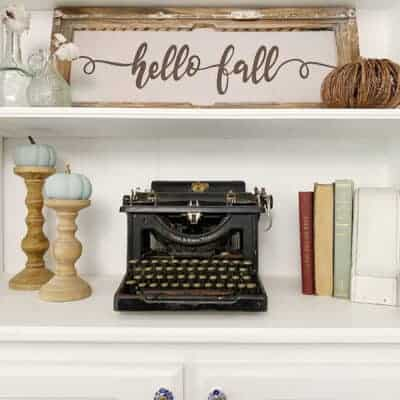 shop fall vintage decor