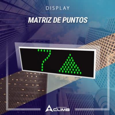 Display matriz de punto