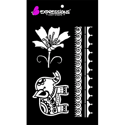 Traditional Motifs stencils
