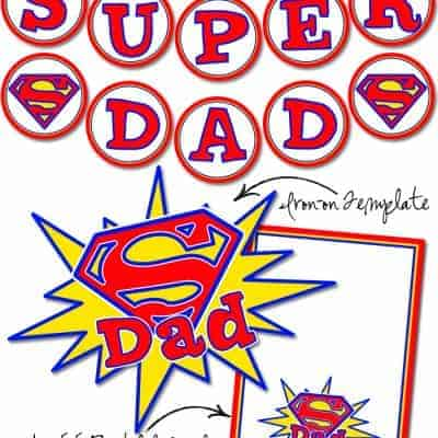 Super Dad Free Printables