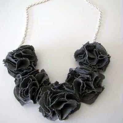 How to Make Fabric Flowers – No Sew Tutorials