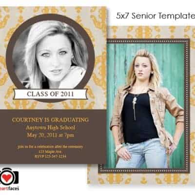 Free Graduation Photoshop Templates