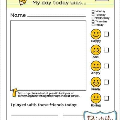 School Notes – Back to School Free Printable