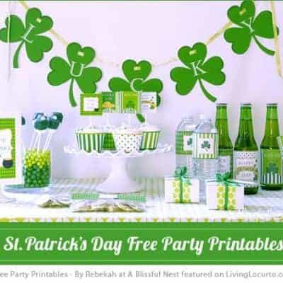 St. Patricks Day Party Printables