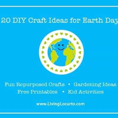 Easy & Fun Earth Day Recycled Craft Ideas