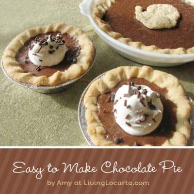 Fast & Easy Chocolate Pie