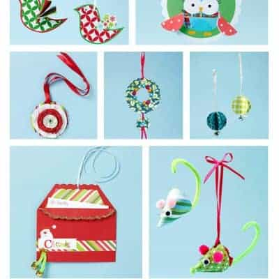 10 Easy to Make Paper Christmas Ornaments