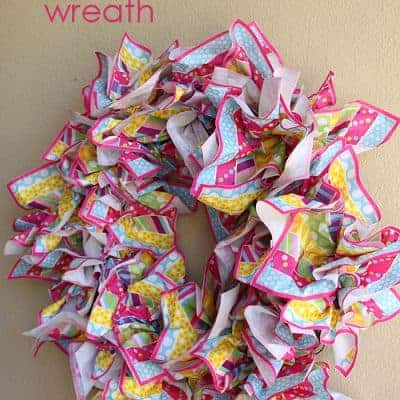 How to Make a Spring Wreath {Easy DIY Craft}