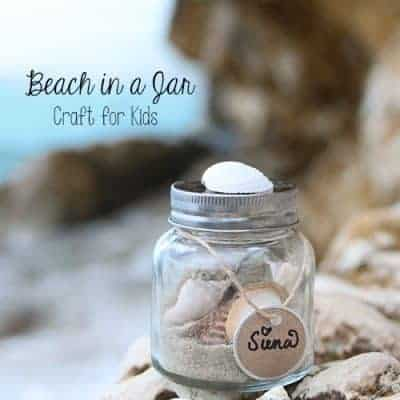 Memory Sand Jars | Vacation Keepsake | Kids Craft Idea
