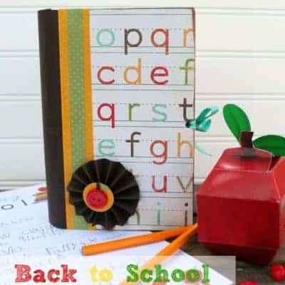 Back to School Time Capsule Craft