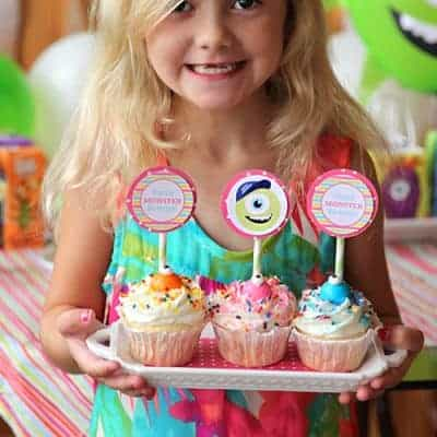 Monsters University Birthday Party {Free Printables}