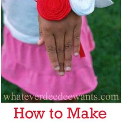 How to Make Felt Flowers – DIY Corsage Craft Tutorial