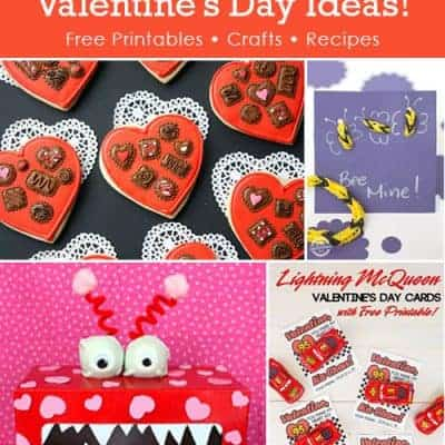 10 DIY Valentines Day Free Printables and Crafts