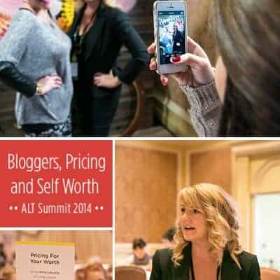 Blogging Tips, Self Worth and ALT Summit