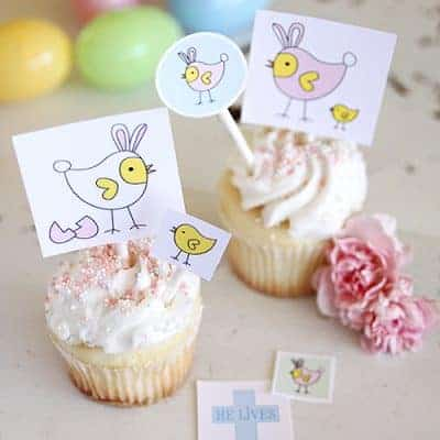 Baby Chicks Easter Printables