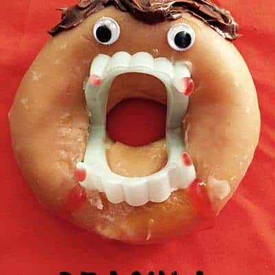 Dracula Halloween Donuts