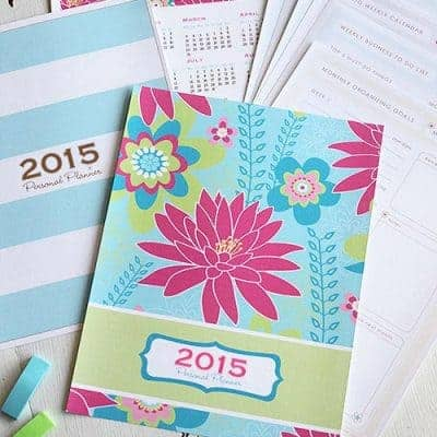 2015 Printable Personal Daily Planner