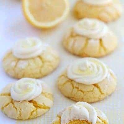 Lemon Cookies (VIDEO)