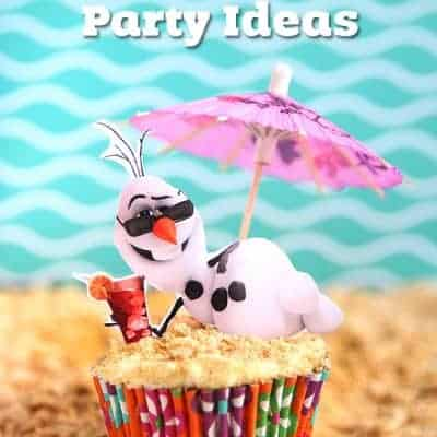 Disney Frozen Summer Birthday Party Ideas