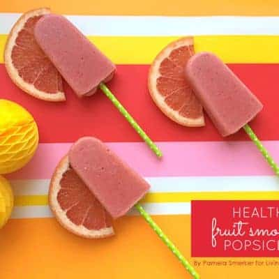 Healthy Fruit Smoothie Popsicles Recipe