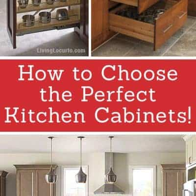 6 Tips for Choosing the Perfect Kitchen Cabinets!