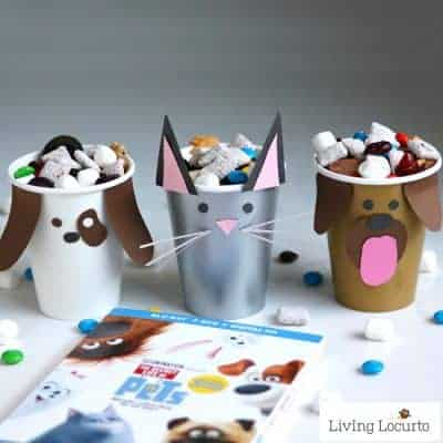 Dog & Cat Paper Cup Craft   Pet Party Ideas