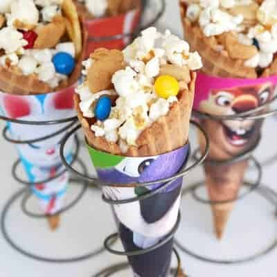 The Nut Job 2 Movie Popcorn Trail Mix Treats