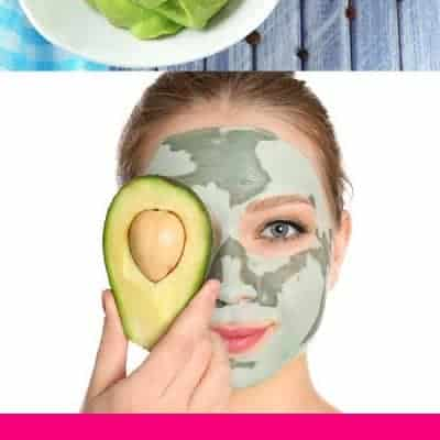 Easy Honey Avocado Face Mask