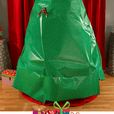 Elf on the Shelf Gift Wrapped Room
