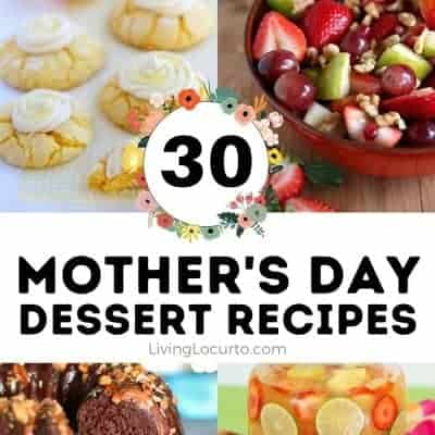 30 Classic Mother's Day Dessert Recipes