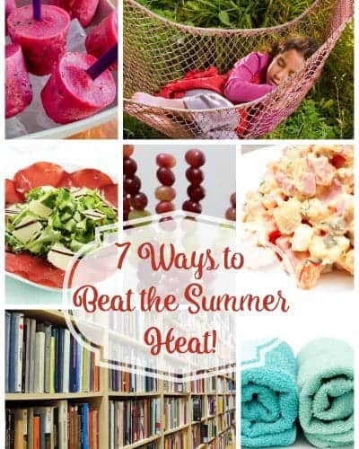 Without Wasting Water - 7 Ways to Beat the Summer Heat