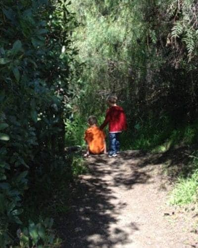 George's Canyon Hike with Children - yes you can go hiking with kids.