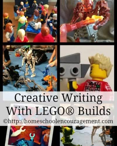 Creative Writing With LEGO builds