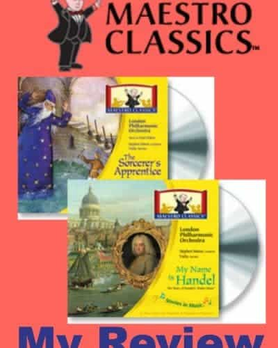 maestro classics - perfect for homeschool students exposure to classical music -- fun for the whole family. #homeschool