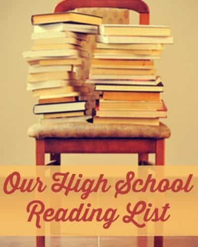 High School Reading List