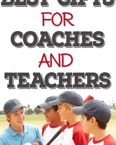 best gifts for coaches and teachers to make or buy