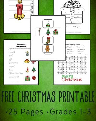 free Christmas Printable pack