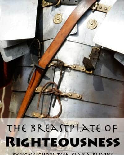 What do you know about the breastplate of righteousness?