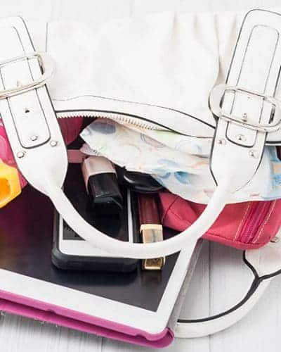 ten ways to keep your purse clean