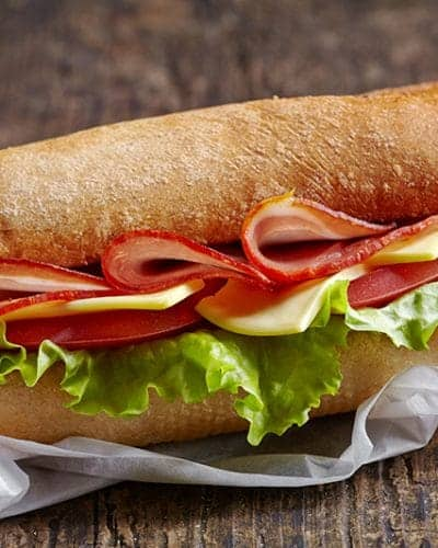 It's National Sandwich Day! Enjoy a yummy sandwich different than your normal choice.