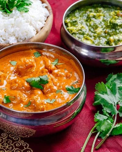 Easy Instant Pot Recipes with Chicken: Butter Chicken is a big favorite in the IP