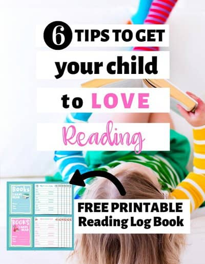 6 tips to encourage your child to love reading