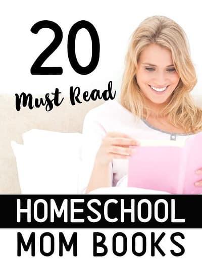 20 must read homeschool mom books