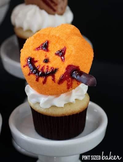Pint Sized Baker - Spooktacular Halloween Zombie Peeps Cake