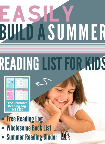 Build Your Child's Summer Reading List With These Wholesome Books