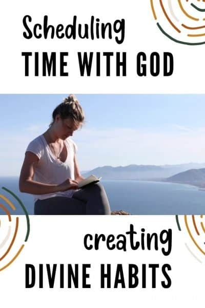 Scheduling Time with God