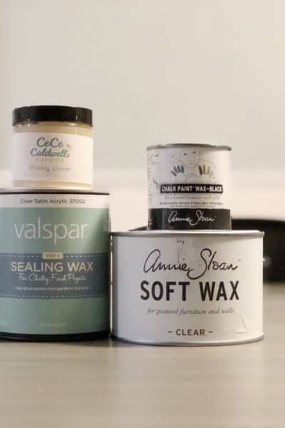 different brands of wax