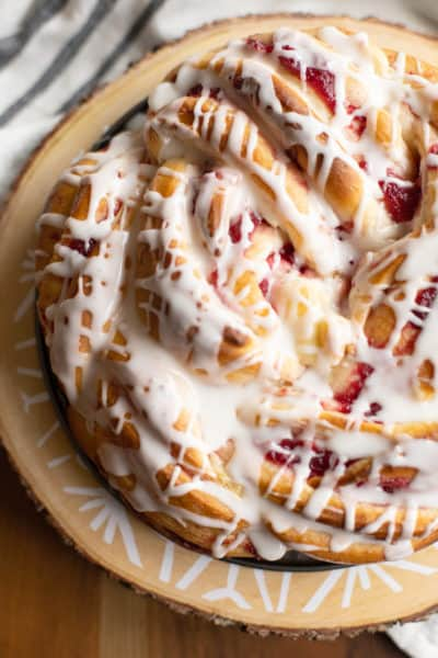 Cranberry Danish Twist